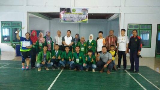 Jurusan BK juarai Tournament Bulu Tangkis antar Jurusan di STKIP Muhammadiyah Sungai Penuh
